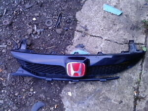 2010 CIVIC FRONT BUMPER 4dr KIT URETHANE AFTER MARKET $200 RARE