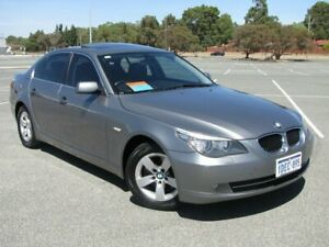 2009 BMW 520d E60 MY08 Steptronic Grey 6 Speed Sports Automatic Sedan Maddington Gosnells Area Preview