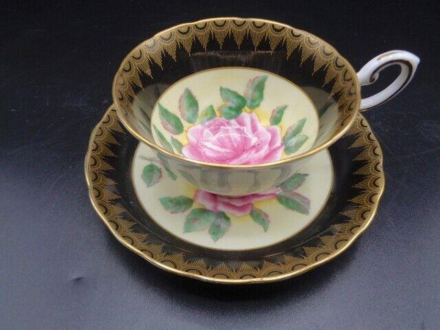 TUSCAN CHINA  TEA CUP & SAUCER  1940