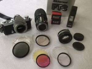 Camera Nikkormat et Accessoires