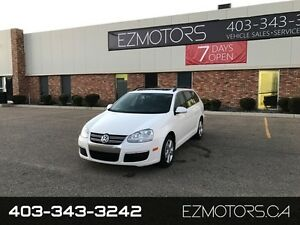 2009 Volkswagen Jetta Wagon Highline=PANORAMIC SUNROOF=LOADED=LO