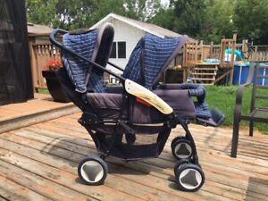Double baby stroller BRITAX (reg $260)