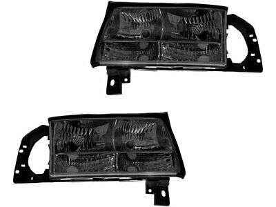 For 1997-1999 Cadillac DeVille Headlight Assembly Set 27195PT 1998