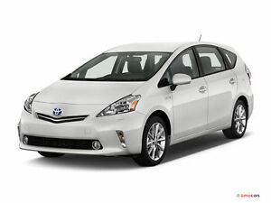 Co-Op Taxi Plate and 2012 Toyota Prius V $83000