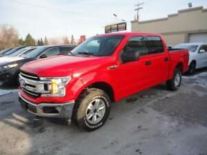 Ford F-150 XLT 2018 CREW-4X4-V6-EcoBoost-Camera a vendre