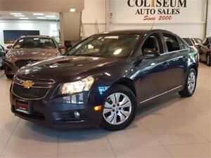 2014 Chevrolet Cruze LT-AUTO-BACK UP CAMERA-BLUETOOTH-ONLY 74KM
