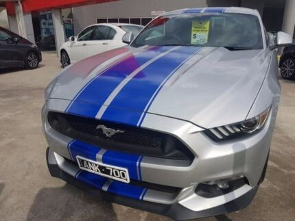 2016 Ford Mustang FM GT Fastback Silver 6 Speed Manual Fastback