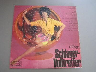 Vinyl LP - Various – Schlager-Volltreffer 6. Folge Baccarola 79627 Zustand VG-