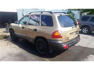 2002 Hyundai Santa Fe GL FINANCEMENT AUCUN CAS REFUSÉ!!