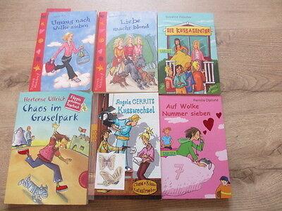 6 Bücher für Mädchen Teenies  über Freundschaft, erste Liebe usw.,