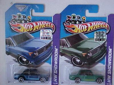 Hot Wheels 2013 BMW 2002 Lot of 2 cars Factory Sealed Set