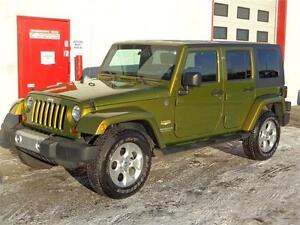 2008 Jeep Wrangler Sahara Unlimited ~ 55,000kms!! ~ $21,900