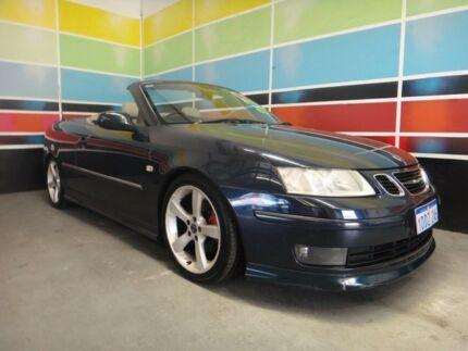 2004 Saab 9 3 MY04 Aero Dark Blue Black Roof 5 Speed Auto Sensonic Convertible