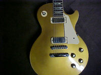 GIBSON Les Paul Deluxe Gold Top  -  1973  - 1975 - 40 years old