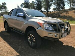 2015 Mazda BT-50 MY13 XTR (4x4) Gold 6 Speed Automatic Freestyle Utility Oakey Toowoomba Surrounds Preview