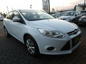 2012 Ford Focus LW Ambiente White 6 Speed Automatic Sedan Croydon Burwood Area Preview
