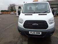 Ford Transit 2.2 Tdci 125Ps Single Cab One Stop Tipper DIESEL MANUAL (2015)