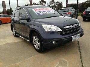2008 Honda CR-V MY07 (4x4) Sport Grey 5 Speed Automatic Wagon Melton Melton Area Preview