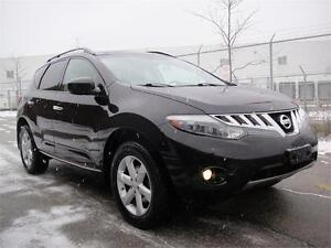 2009 NISSAN MURANO SL AWD-LOADED PANO ROOF LEATHER BACK CAM