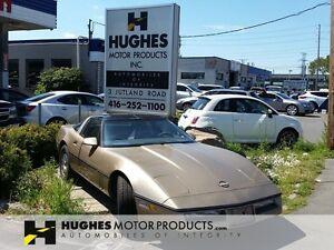 1985 Chevrolet Corvette   Leather   Glass Targa Top   Power pckg