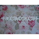 Antique Rose & Leaf Garland Molding Trim Furniture Applique Architectural 17 3/4