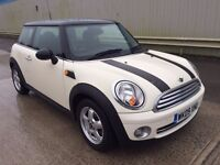 Mini Cooper 2009, Low mileage and full service history, Under 47K Miles