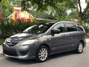 2009 MAZDA5, AUTOMATIQUE, 150 000KM, A/C, 6 PASSAGERS, FULL LOAD
