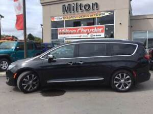 2018 Chrysler Pacifica LIMITED|LEATHER|SUNROOF|NAVIGATION|TRAILE