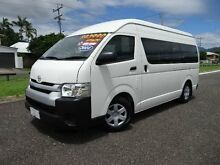 2014 Toyota Hiace TRH223R MY14 Commuter White 4 Speed Automatic Bus Bungalow Cairns City Preview
