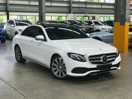 2016 Mercedes-Benz E200 W213 Sedan 4dr 9G-TRONIC PLUS 9sp 2.0T [May] White Sports Automatic Sedan Port Melbourne Port Phillip Preview