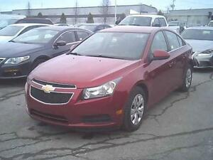 2014 CHEVROLET CRUZE LT 1.4L 4 CYL LOW PRICE EASY CAR FINANCE