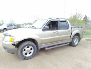 2002 Ford Explorer 4WD SPORT TRAC For Sale Edmonton