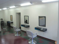 Equipped Hair Salon for rent