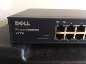 NEW IN BOX DELL X1026 ETHERNET MANAGED NETWORK SWITCH 0MM39Y