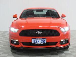 2015 Ford Mustang FM Fastback 2.3 Gtdi Orange 6 Speed Manual Coupe Jandakot Cockburn Area Preview