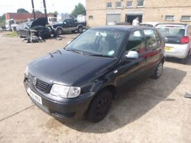 VOLKSWAGEN POLO - LR51HNX - DIRECT FROM INS CO