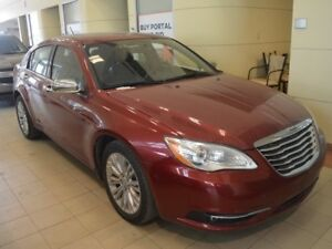 2013 Chrysler 200 Limited - Heated Leather Seats - Sunroof
