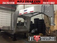 2016 Aluminum 30' Gooseneck FlatBed Trailer Winnipeg Manitoba Preview