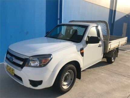 2011 Ford Ranger PK XL (4x2) White 5 Speed Manual Cab Chassis Rutherford Maitland Area Preview