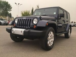 2013 Jeep Wrangler Unlimited SAHARA UNLIMITED 4X4 Accident Free,