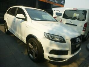 2012 Audi Q7 MY12 TDI Tiptronic Quattro White 8 Speed Sports Automatic Wagon