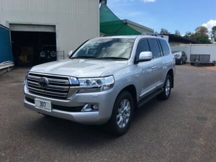 2018 Toyota Landcruiser VDJ200R MY19 LC200 Sahara (4x4) Silver 6 Speed Automatic Wagon Berrimah Darwin City Preview