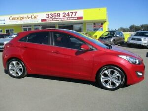 2014 Hyundai i30 GD MY14 Premium Red 6 Speed Sports Automatic Hatchback Kedron Brisbane North East Preview