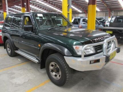 1998 Nissan Patrol GU ST (4x4) Green 4 Speed Automatic 4x4 Wagon Maryville Newcastle Area Preview