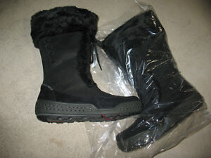 ecco SIBERIA Boot, Women 36 Europe or 5-5.5 US-Black