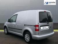 2014 Volkswagen Caddy C20 TDI TRENDLINE Diesel silver Manual