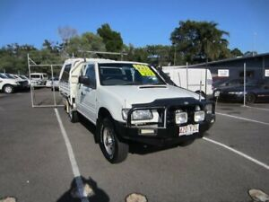 2002 Holden Rodeo TF MY02 LX Space Cab White 5 Speed Manual Cab Chassis Maroochydore Maroochydore Area Preview