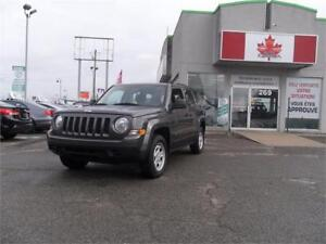 2016 Jeep Patriot Sport  4WD  ++++ seulement 68$/semaine ++++