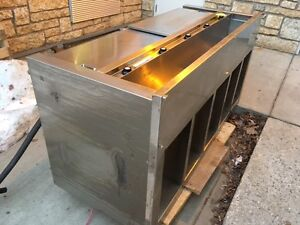SuperCo. 5 Well steam table