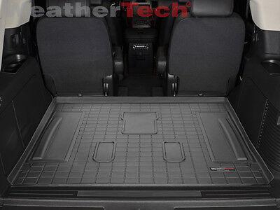 WeatherTech Cargo Liner for Tahoe/Escalade/Yukon w/3rd Row Seats - Black (3rd Row Seat Cargo Liner)